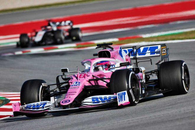 2020年F1第2回バルセロナテスト2日目 ランス・ストロール(レーシングポイント)