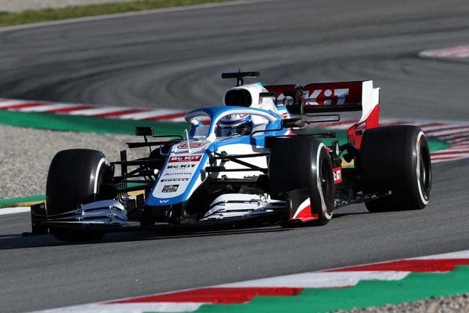 2020年F1第2回バルセロナテスト2日目 ニコラス・ラティフィ(ウイリアムズ)