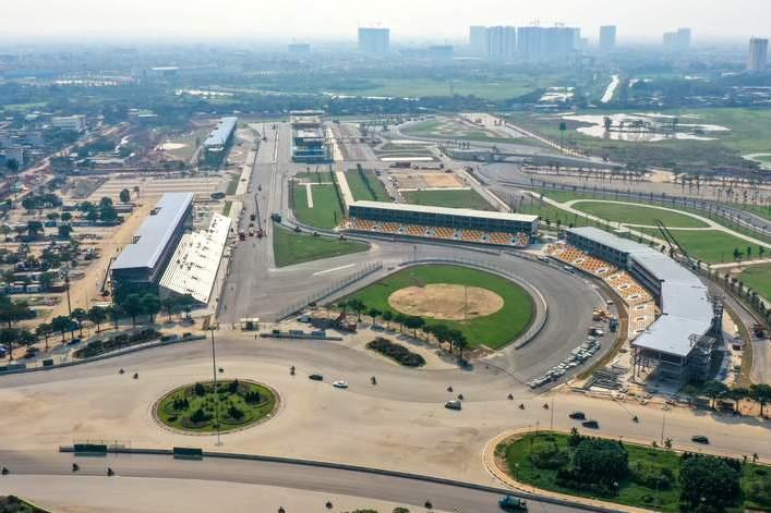 F1 | 新型肺炎流行の影響が懸念されるF1ベトナムGP、新サーキットの完成を発表「予定どおり開催」とF1ボス