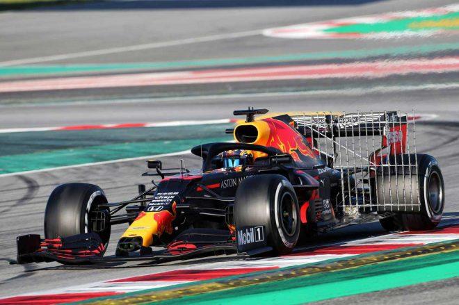 2020年F1第2回バルセロナテスト3日目 アレクサンダー・アルボン(レッドブル・リンク)