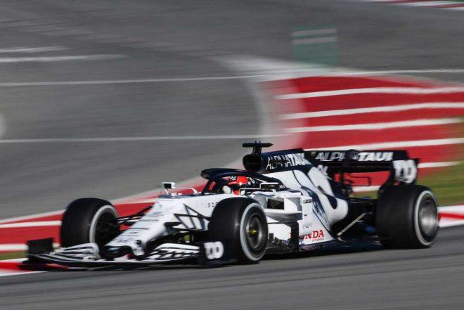 2020年F1第2回バルセロナテスト3日目 ダニール・クビアト(アルファタウリ・ホンダ)