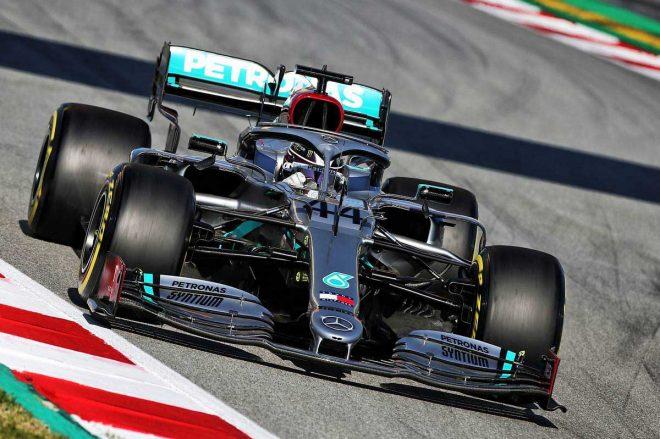 2020年F1第2回バルセロナテスト3日目 ルイス・ハミルトン(メルセデス)