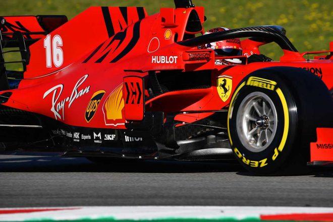 2020年F1第2回バルセロナテスト3日目 シャルル・ルクレール(フェラーリ)