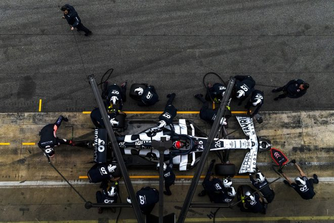 2020年第2回F1プレシーズンテスト3日目:ダニール・クビアト(アルファタウリ・ホンダ)