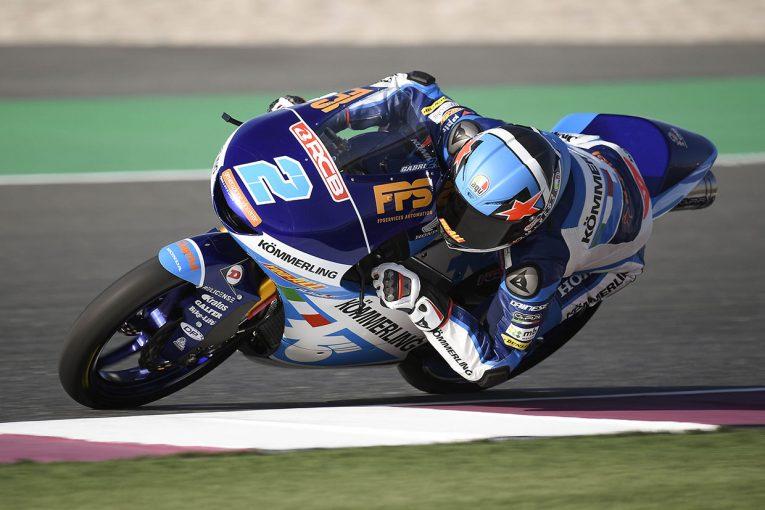 MotoGP | ガブリエル・ロドリゴがトップ、小椋藍は3番手【タイム結果】Moto3クラス:カタールテスト1日目
