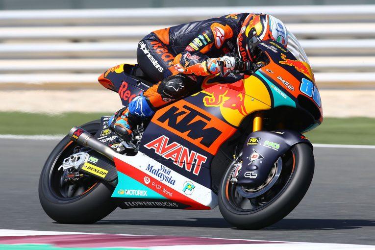 MotoGP | ホルヘ・マルティンがトップ【タイム結果】Moto2クラス:カタールテスト2日目