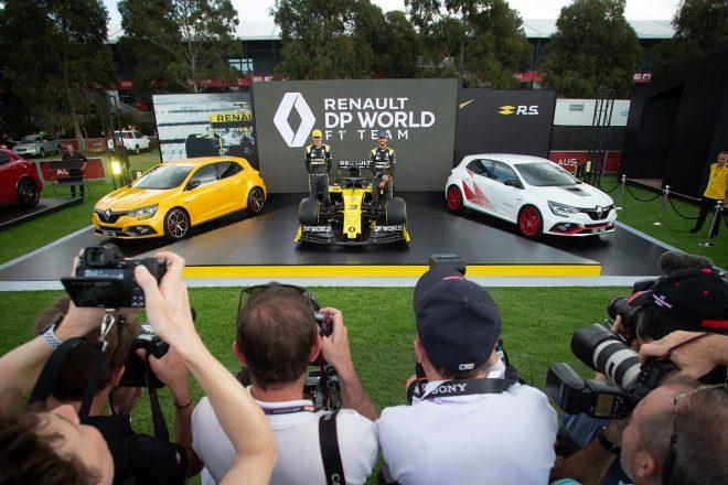 2020年F1オーストラリアGP水曜:ルノーR.S.20の正式カラー発表会