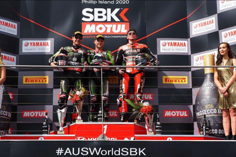 MotoGP | ロウズ優勝でカワサキがワンツーフィニッシュ【順位結果】SBK第1戦オーストラリア レース2