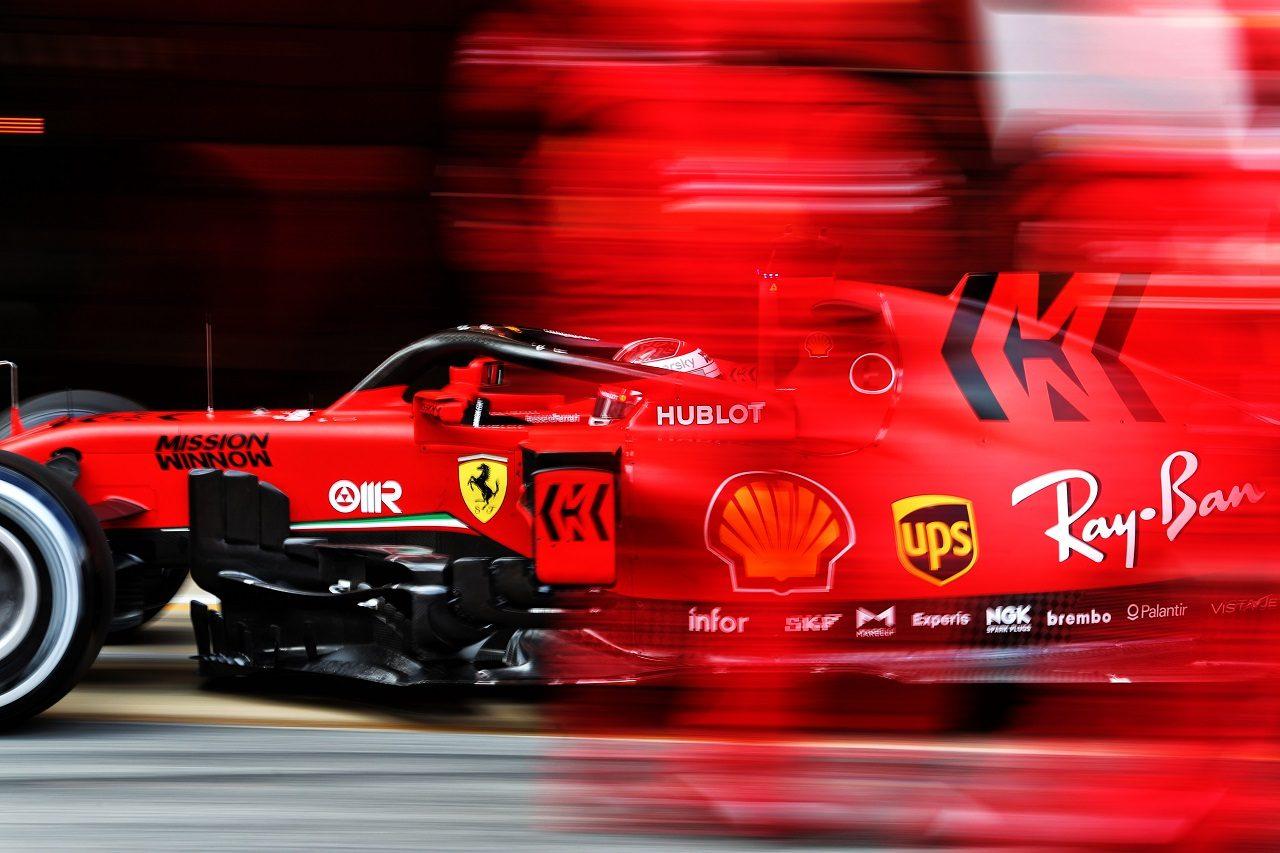 2020年F1プレシーズンテスト2回目 シャルル・ルクレール(フェラーリ)