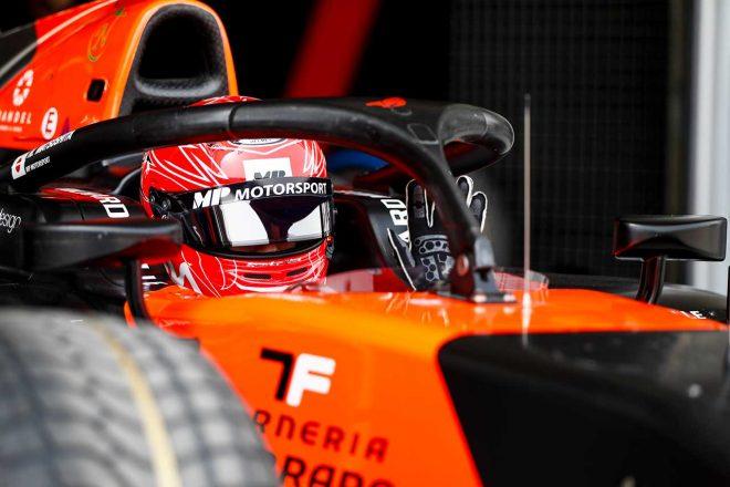 2020年FIA-F2プレシーズンテスト初日 松下信治(MPモータースポーツ)