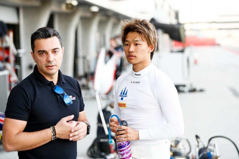 海外レース他   FIA-F2参戦の佐藤万璃音に聞くシリーズの現状。マシンはバーレーンに留め置き、開幕の情報は「まったくなし」