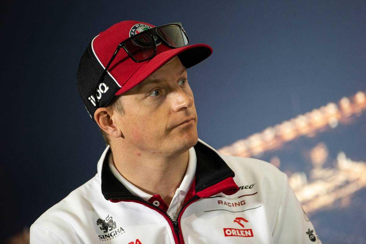 2020年F1第1回バルセロナテスト1日目 キミ・ライコネン(アルファロメオ)
