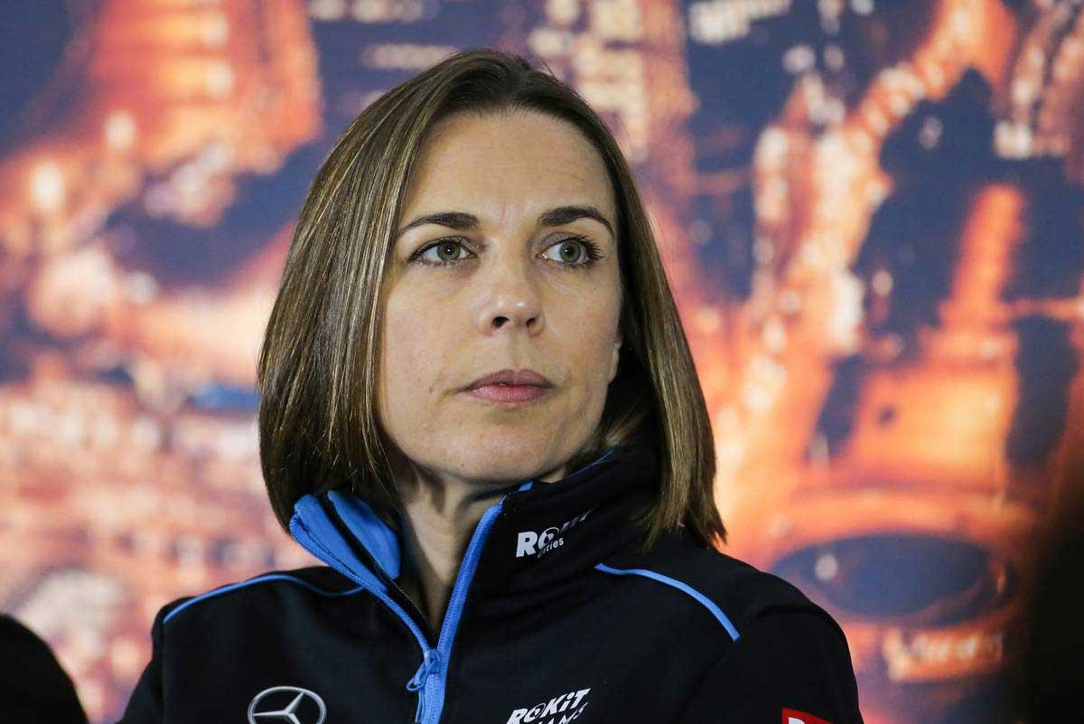 2020年F1第2回バルセロナテスト2日目 クレア・ウイリアムズ(ウイリアムズ 副チーム代表)