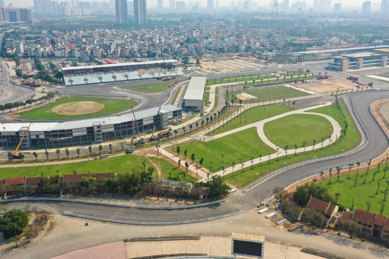F1ベトナムGP開催が計画されたハノイ・サーキット