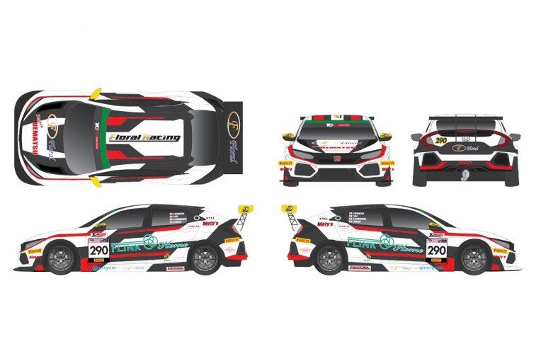 国内レース他 | スーパー耐久:Floral Racing with UEMATSUがシビックTCRで参戦。強力ドライバーで王座狙う