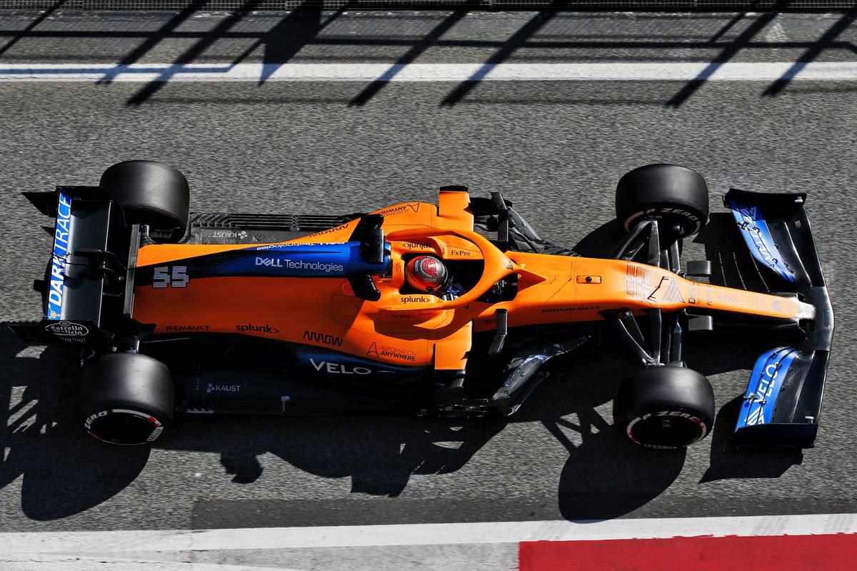 2020年F1第1回バルセロナテスト3日目 カルロス・サインツJr.(マクラーレン)