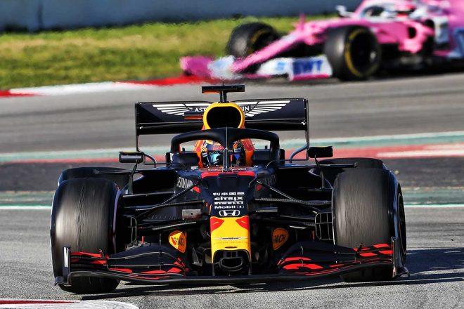 2020年のF1プレシーズンテストに参加したアレクサンダー・アルボン(レッドブル)