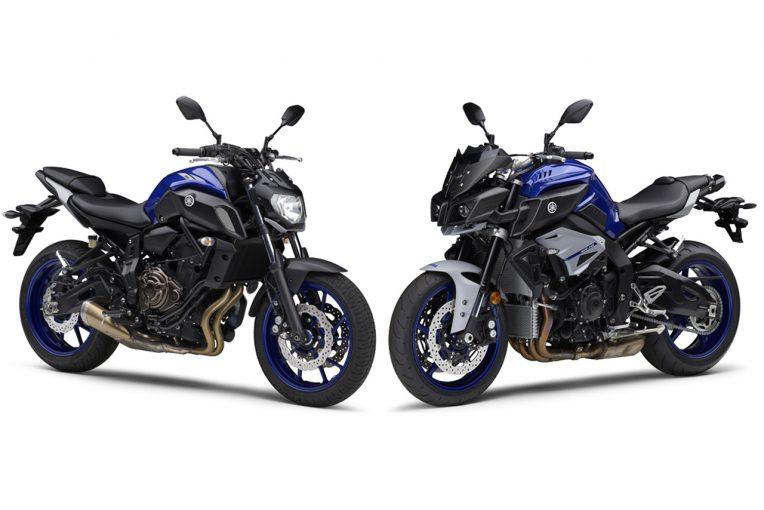 MotoGP | ヤマハ『MT-07 ABS』『MT-10 ABS』に新色。ヤマハレーシングブルーでスポーティなイメージに