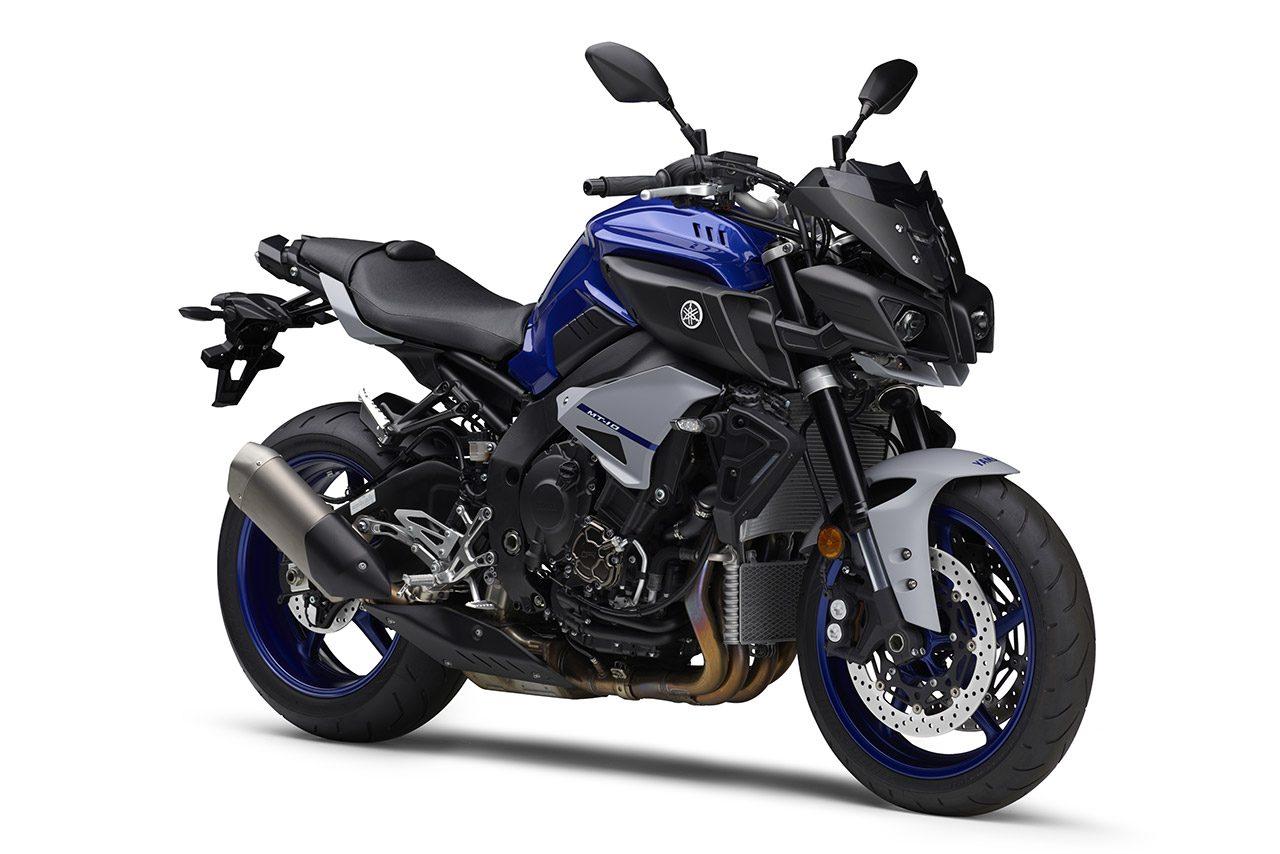 ヤマハ『MT-07 ABS』『MT-10 ABS』に新色。ヤマハレーシングブルーでスポーティなイメージに