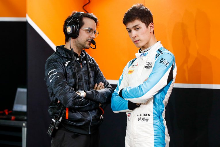 F1 | ウイリアムズF1のリザーブ務めるエイトケン、オーストラリアGPでサポートレースに参戦。バリチェロらも出場