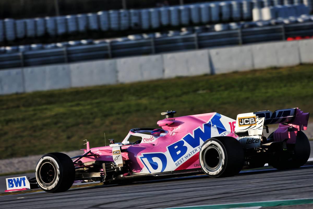 2020年F1第1回バルセロナテスト3日目 ランス・ストロール(レーシングポイント)