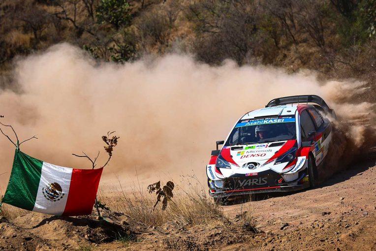 ラリー/WRC   トヨタ、WRC復帰後初のメキシコ制覇なるか。第2戦勝利の「勢いが続くことを期待」とマキネン