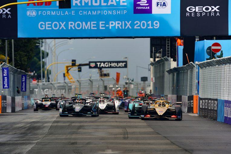 海外レース他 | フォーミュラE:イタリアでの新型コロナウイルス拡大にともない第6戦ローマE-Prixが延期に
