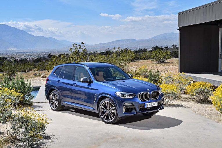 クルマ   直列6気筒搭載のMパフォーマンス・モデル、『BMW X3 M40i』を追加設定