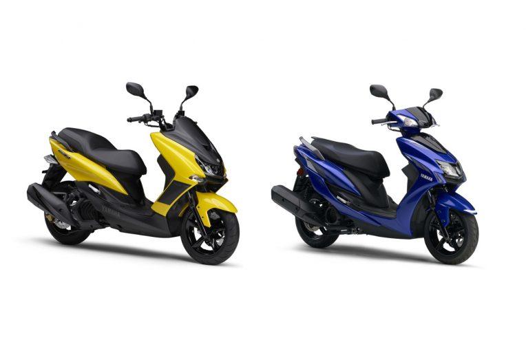 MotoGP   ヤマハ『マジェスティS』『シグナスX』にスポーティな新色の2020年モデル登場。4月10日発売
