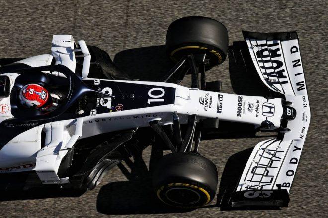 F1バルセロナテスト:ピエール・ガスリー(アルファタウリ・ホンダ)