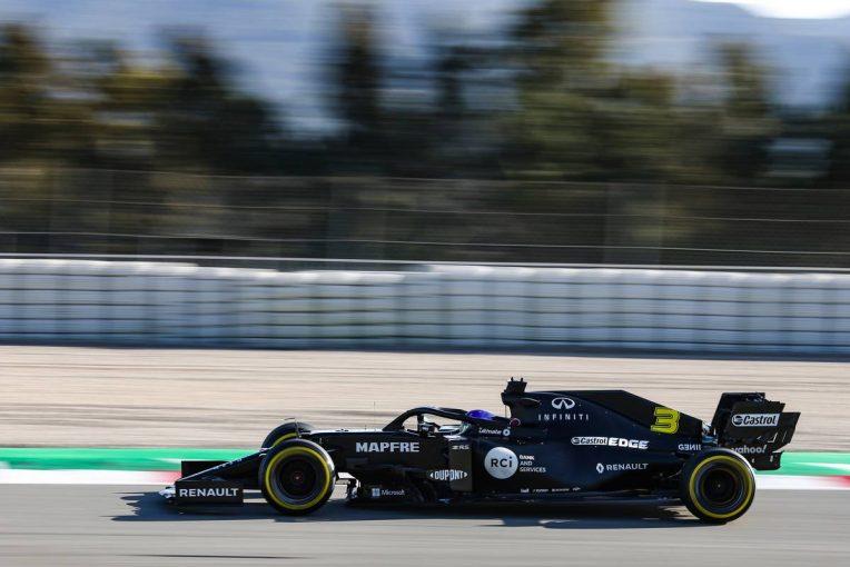 F1   リカルド、旧型マシンをテストし「この2年間ではるかに良くなった」とルノーF1の進歩を実感