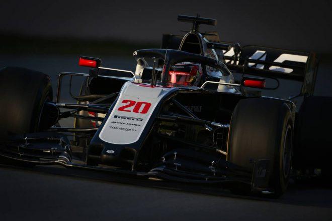 第2回F1バルセロナテスト:ケビン・マグヌッセン(ハース)