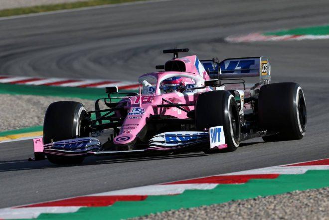 第2回F1バルセロナテスト:ランス・ストロール(レーシングポイント)