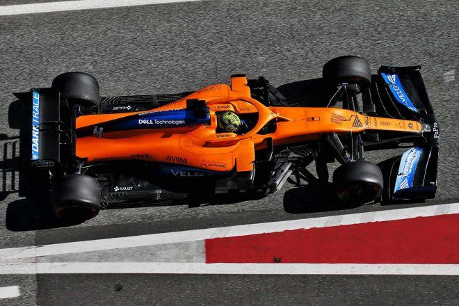 マクラーレンの2020年型F1マシン『MCL35』