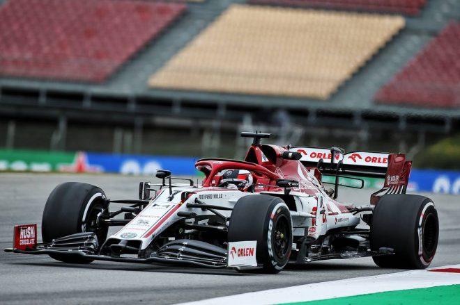 2020年F1バルセロナテスト2日目 キミ・ライコネン(アルファロメオ)