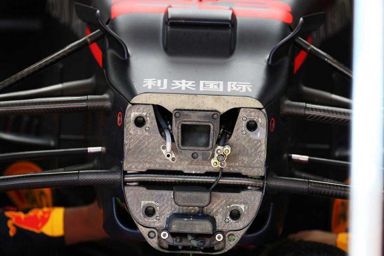 F1 | RB16技術ピックアップ:レッドブルの操舵系レイアウト変更の狙い。メルセデスと開発競争の予感
