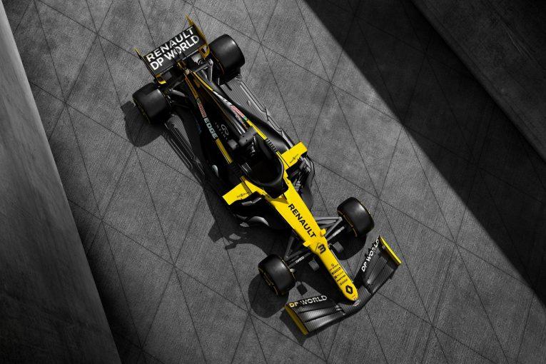 F1 | ルノーF1、2020年型R.S.20の正式カラーを披露。タイトルスポンサー獲得でチーム名が変更に