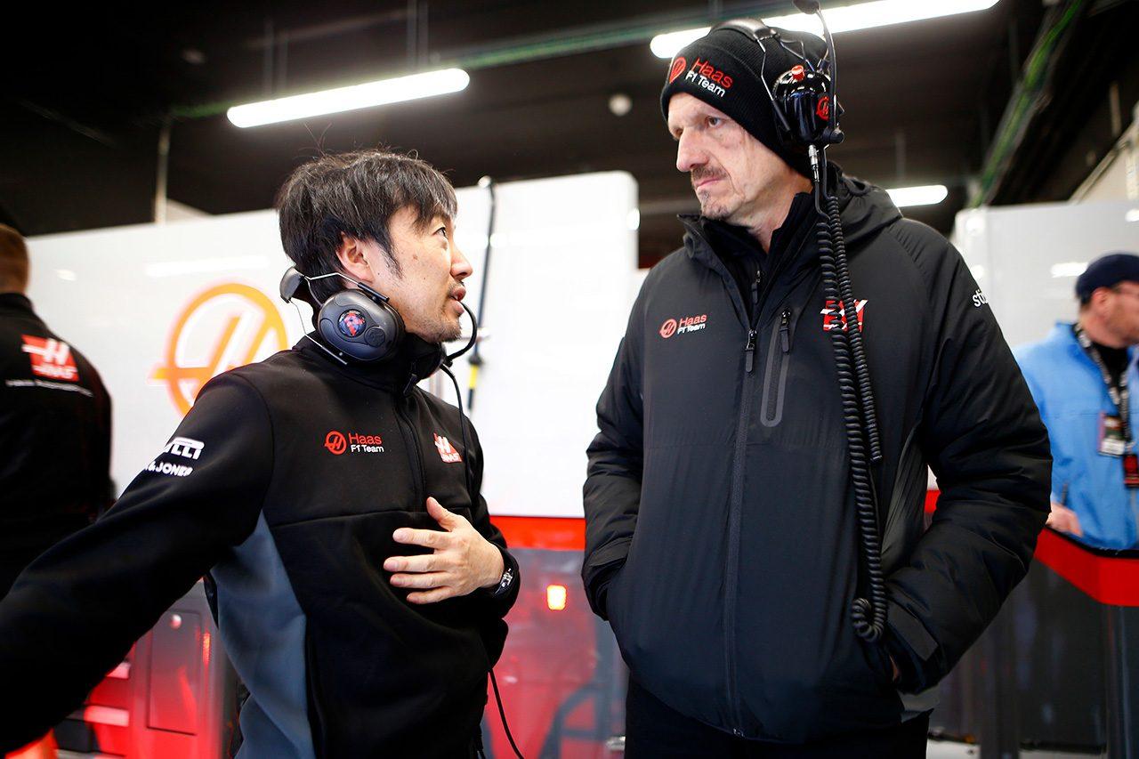 2020年第2回F1プレシーズンテスト最終日 小松礼雄エンジニアリングディレクター&ギュンター・シュタイナー代表