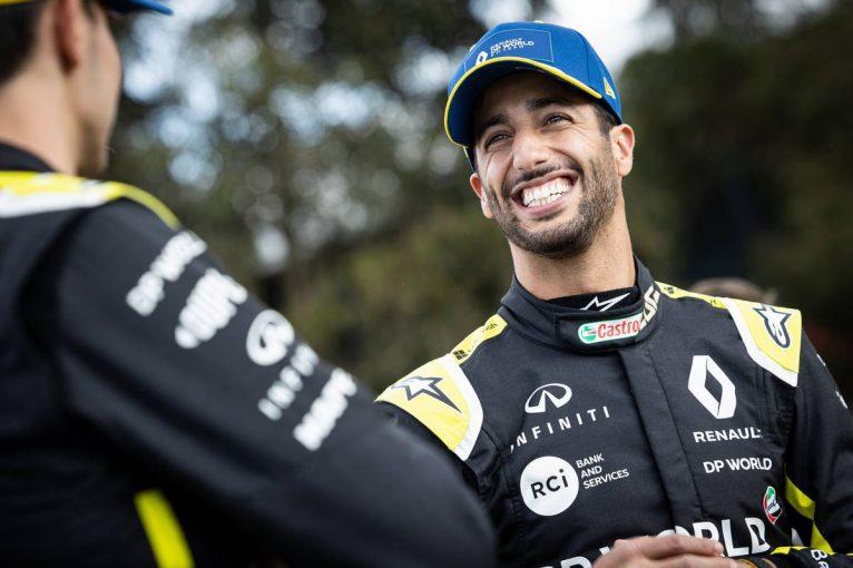 F1   「今年はルノーF1とともに良い週末にする」リカルド、母国オーストラリアで好結果を残せるか