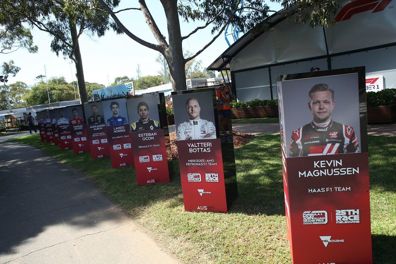 2020年F1オーストラリアGP水曜 アルバートパーク・サーキット