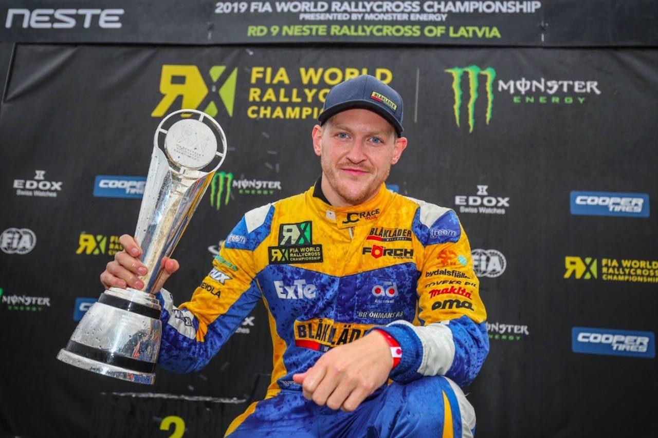 世界ラリークロス:連覇達成の元王者ヨハン・クリストファーソンがシリーズ復帰へ