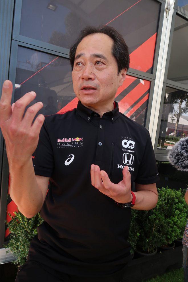 2020年F1開幕戦オーストラリアGP ホンダF1田辺豊治テクニカルディレクター