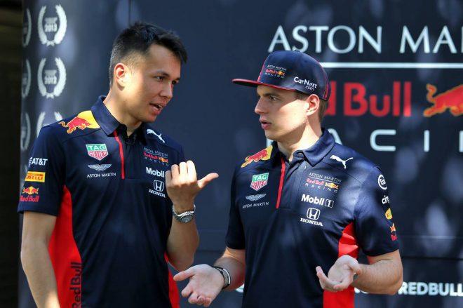 2020年F1開幕戦オーストラリアGP マックス・フェルスタッペン&アレクサンダー・アルボン(レッドブル・ホンダ)