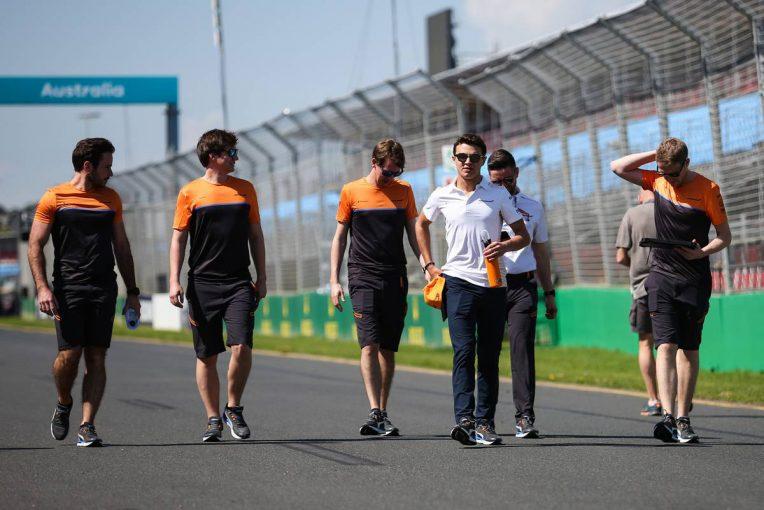 F1 | マクラーレンF1、オーストラリアGPの参戦取りやめ。チームスタッフが新型コロナウイルス検査で陽性