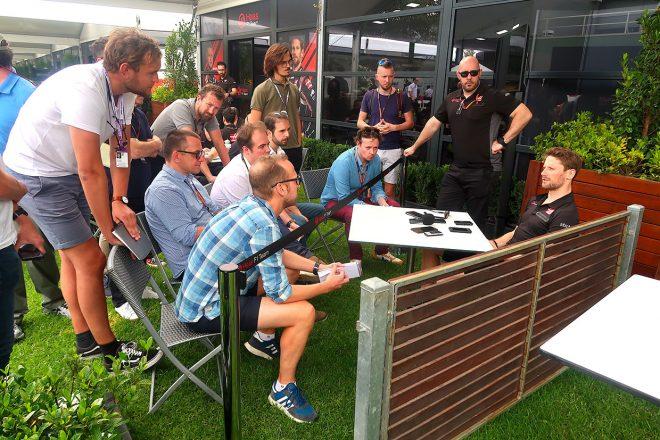 2020年F1開幕戦オーストラリアGP ロマン・グロージャン(ハース)