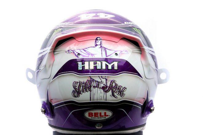 F1 | ルイス・ハミルトン(Lewis Hamilton) 2020年のヘルメット3