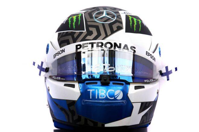 F1   バルテリ・ボッタス(Valtteri Bottas) 2020年のヘルメット1