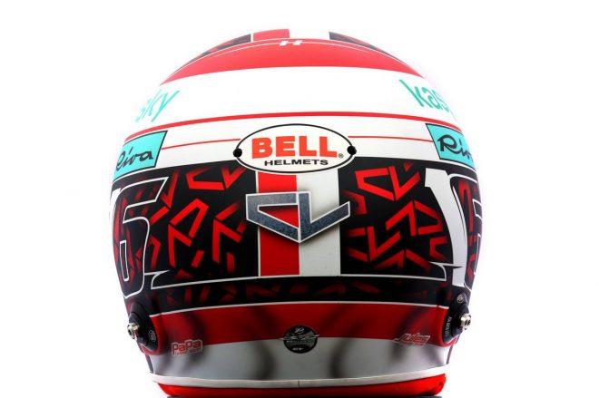 F1 | シャルル・ルクレール(Charles Leclerc) 2020年のヘルメット3