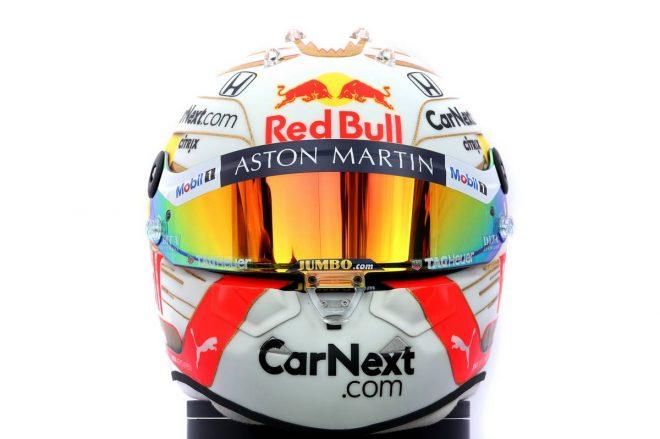 F1   マックス・フェルスタッペン(Max Verstappen) 2020年のヘルメット2
