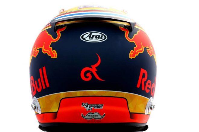 F1 | アレクサンダー・アルボン(Alexander Albon) 2020年のヘルメット3